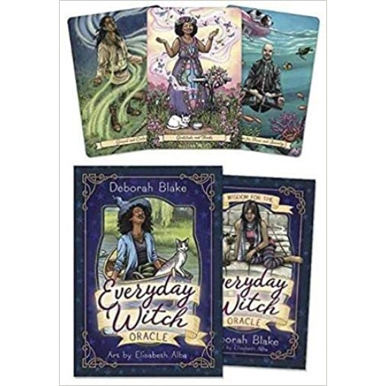 Cartes Oracles Everyday Witch de Deborah Blake
