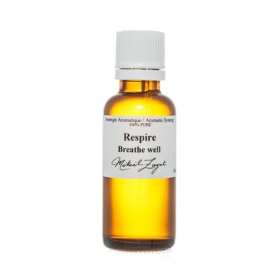 Synergie d'huiles essentielles Respire