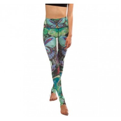 Legging Yoga Papillon